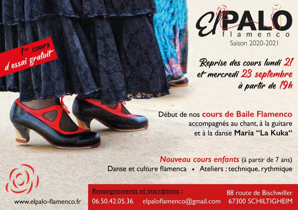 Cours de Flamenco 2020-2021